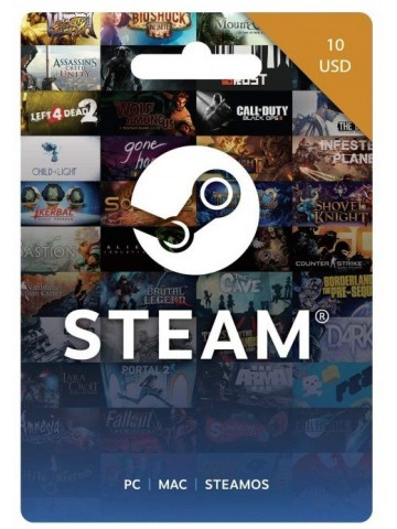 Steam 10$ Gift Card