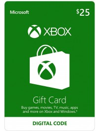 XBOX 25$ Gift Card