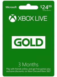 XBOX GOLD 3 Month