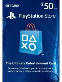 PSN Card 50$ US